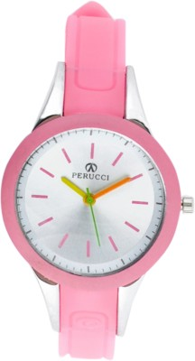 Perucci PC-3333Pink Analog Watch  - For Women