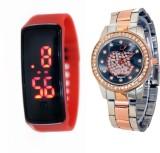SOOMS KJSA2380 Analog-Digital Watch  - F...