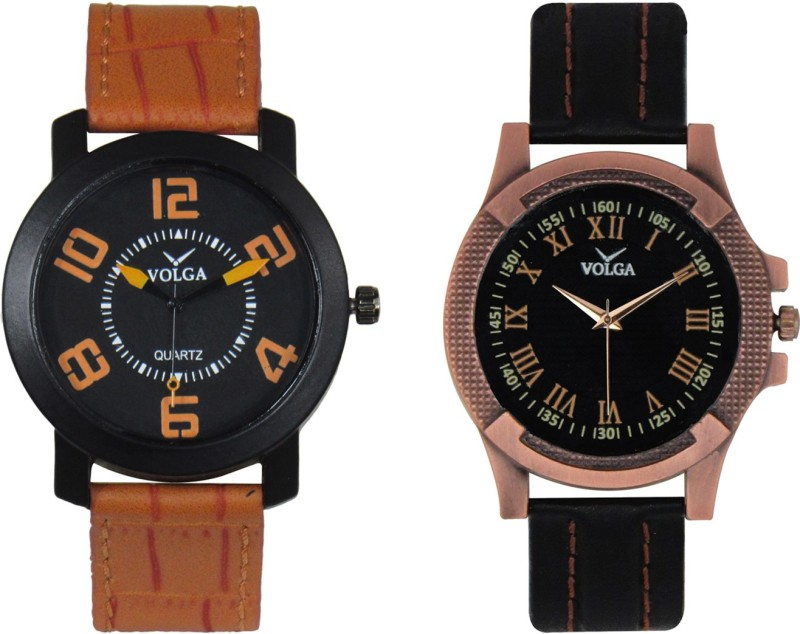 VOLGA Branded Leather Quality Designer Dial Diwali WATEN6XKEUKVHCZ7
