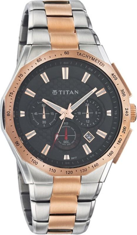 Titan 9344KM01 Octane Analog Watch For Men