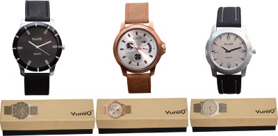 YuniiQ YUN36 Analog Watch  - For Men
