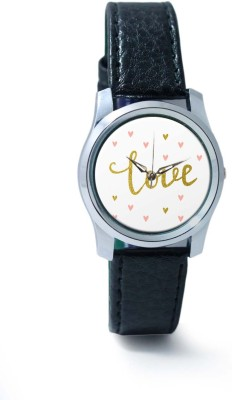 PosterGuy BigOwl Love Illustration Women's Analog Wrist Watch-1963095936-RS2-S-BLK Analog Watch  - For Women
