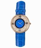KMS MovingBeeds_Roman_BLUE Analog Watch ...