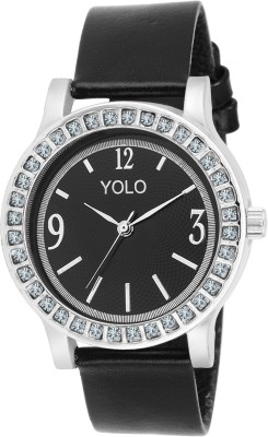 Yolo YLS-038BK Analog Watch  - For Girls, Women