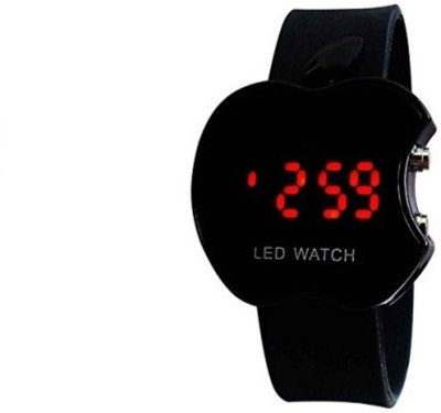 Navyamall Apple Shape LED Touch Watch Digital Watch  - For Boys, Girls