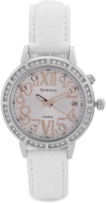 Casio SX082 Sheen Analog Watch  - For Women