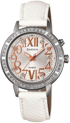 Casio SX082 Sheen Analog Watch  - For Women