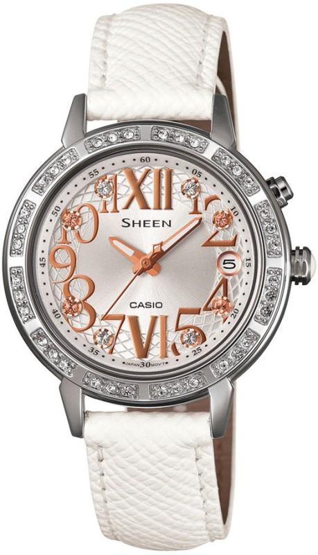Casio SX082 Sheen Analog Watch For Women