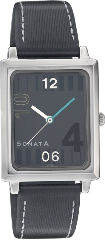 Sonata NG7078SL01 Classic Analog Watch For Men