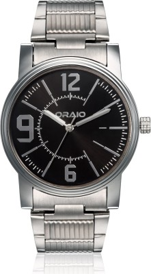 Oraio OR1509 Steel Analog Watch  - For Men
