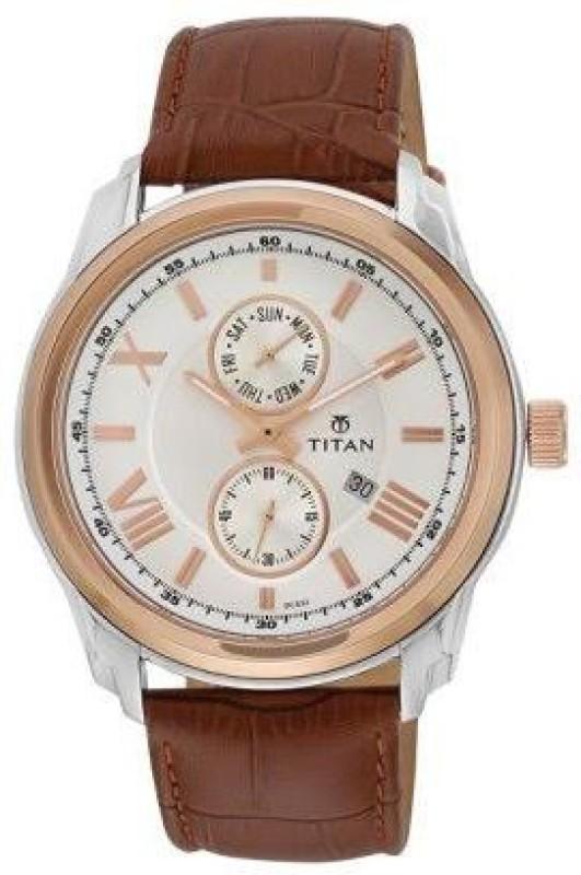 Titan NH90006KL01J Analog Watch For Men