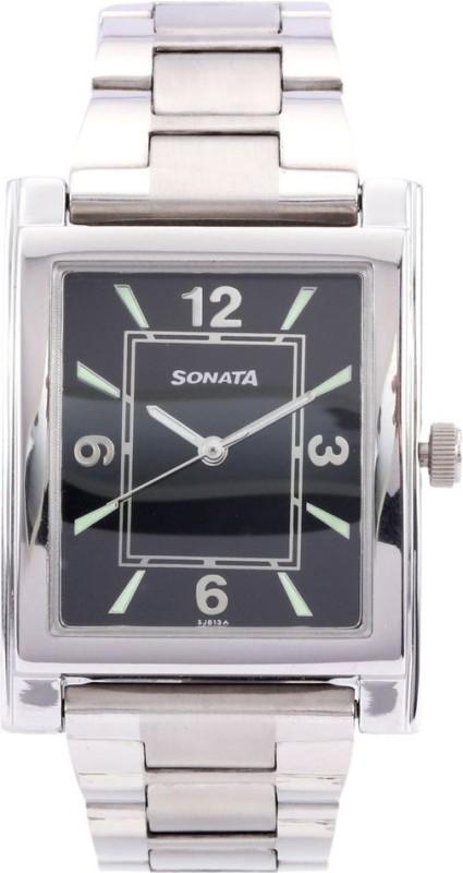 Sonata NH7925SM02AC Analog Watch For Men