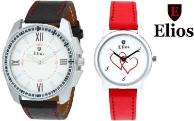 Elios EWMC25-35 Couple Combo Analog Watch  - For Men, Women