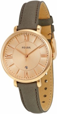 Fossil ES3707 Jacqueline Analog Watch  - For Women