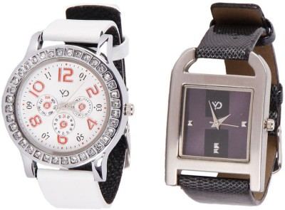 Y And D Angelic3.01and3.03 Analog Watch  - For Girls, Women