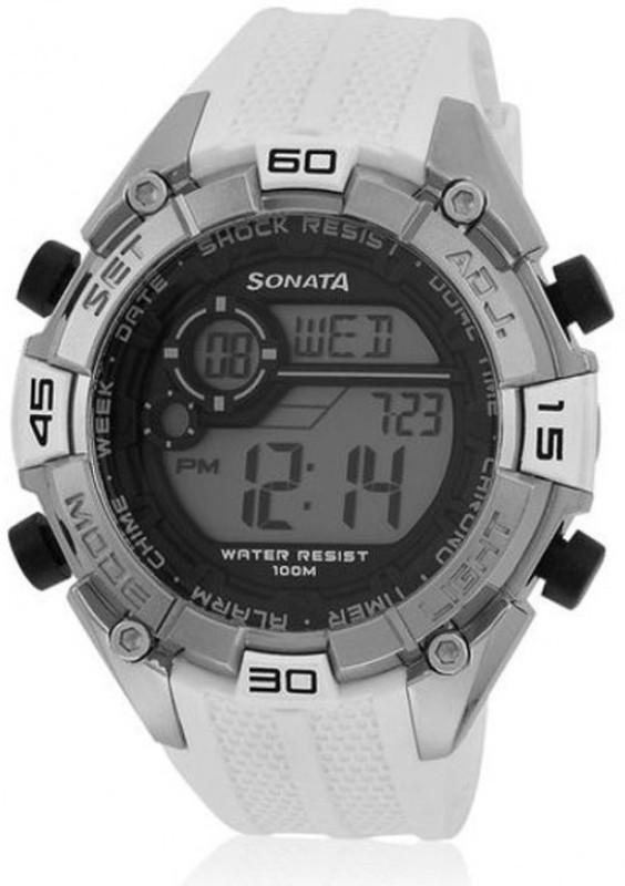 SF NG77026PP02J Digital Watch For Men