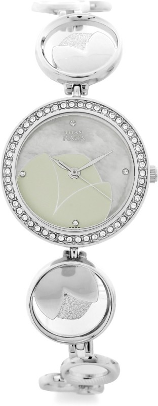 Titan 2539SM01 Raga Garden Of Eden Analog Watch For Women