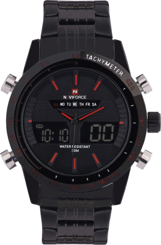 Naviforce NF9024 DBK CBK SBK IRD Analog Digital Watch For Men