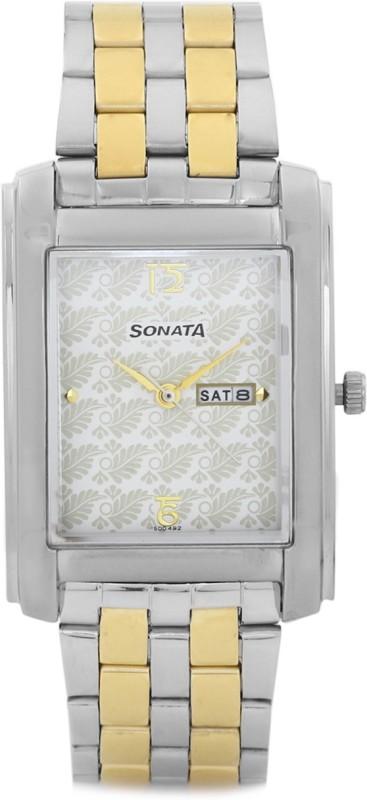 Sonata 7953BM02 Analog Watch For Men