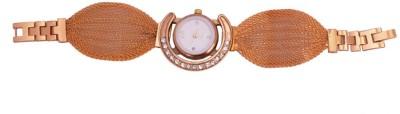 SHH Gold Chain Bracelet Analog Watch  - For Women