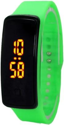 KMS Unisex Glass Led_Bravo_Parrot_Digital Digital Watch  - For Men, Women, Boys, Girls