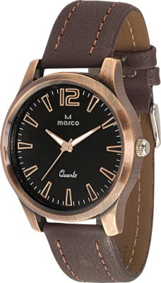 Marco MR-GR401-BLK-BRW Marco Analog Watch  - For Men
