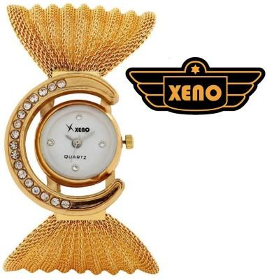 Xeno ZDRE000240 Bracelet Style Golden Women Analog Watch  - For Women, Girls
