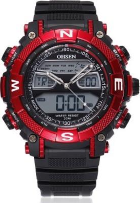 Ohsen AJAD1315-4 Analog-Digital Watch  - For Men