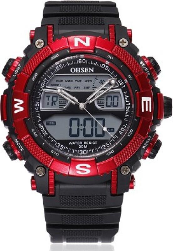 Ohsen AJAD1315 4 Analog Digital Watch For Men