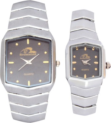 Bromstad 1021PCH Standred Analog Watch  - For Couple