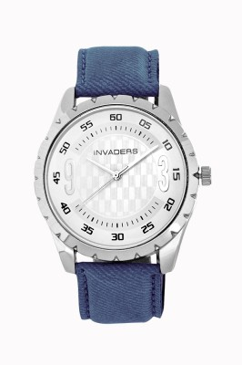 Invaders 67054-Ssblu Jeans 2 Analog Watch  - For Men