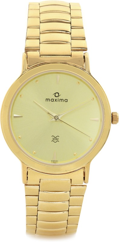 Maxima 04601CMGY Analog Watch For Men