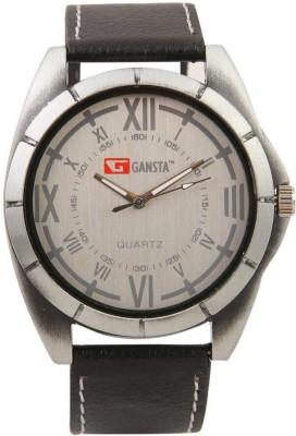 Gansta GT101-3-Blk-Sil Analog Watch  - For Men, Boys