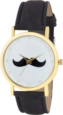 Gypsy Club GC-132 Mustache Series Analog Watch  - For Men, Boys, Women, Girls