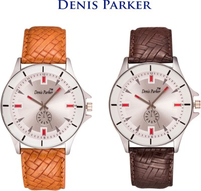 Denis Parker Couple Special Watches FT 8004 Analog Watch  - For Men