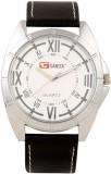 Gansta GT101-5-Wht-Sil Analog Watch  - F...