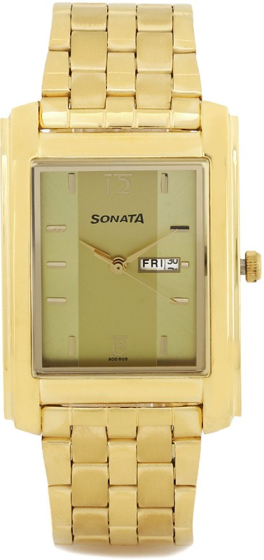 Sonata 7953YM04 Analog Watch For Men