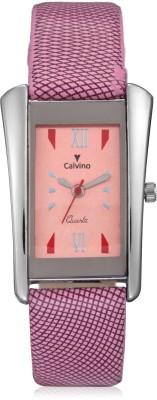 Calvino CLAS-149412_PINK-PINK Analog Watch  - For Women