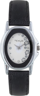 Texus TXWW34Black Analog Watch  - For Women, Girls