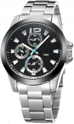 Crystal Collections 7063-B Analog Watch  - For Men