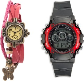 Sir Time Stylish Collection Analog-Digital Watch - For Men & Women