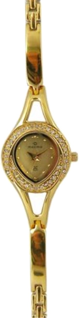 Maxima 24385BMLY Gold Analog Watch - For Women