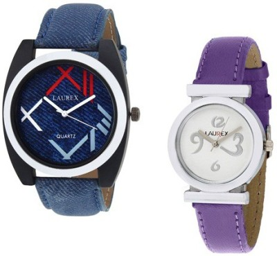 Laurex lx-034-lx-027 Analog Watch  - For Couple