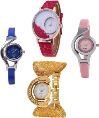 TRUE COLORS GLORY COMBO BEST OFFER PARISH FASHION 2016 Analog Watch  - For Girls, Women