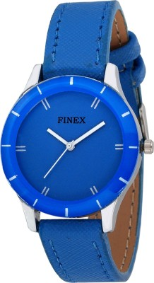 Finex LLSBLU, 10 Analog Watch  - For Women