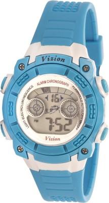 Vizion V8017B-7(Blue) Sports series Digital Watch  - For Boys, Men