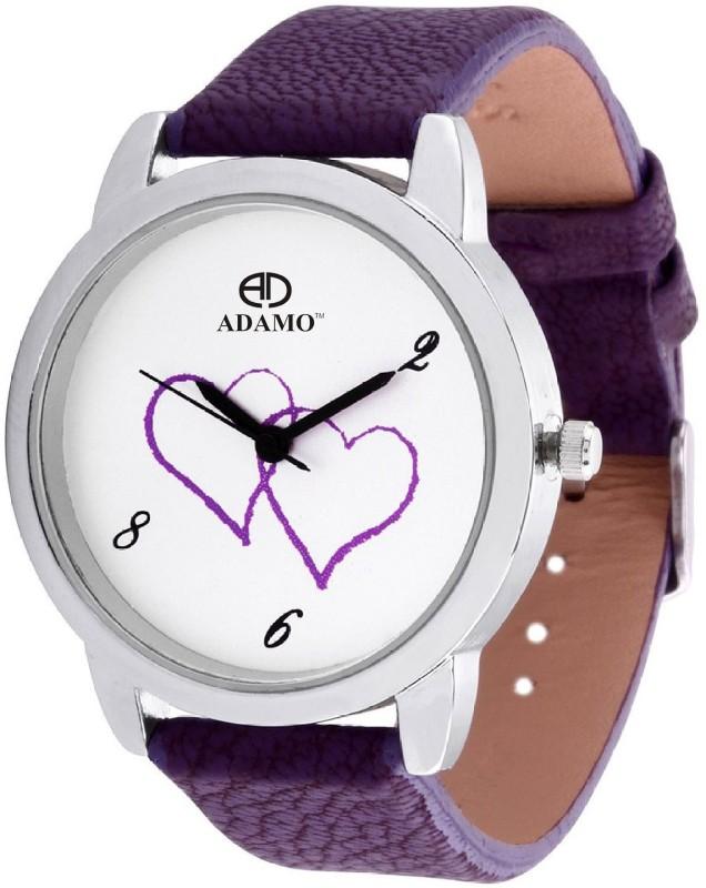 Adamo A801PR01 Legacy Analog Watch For Women