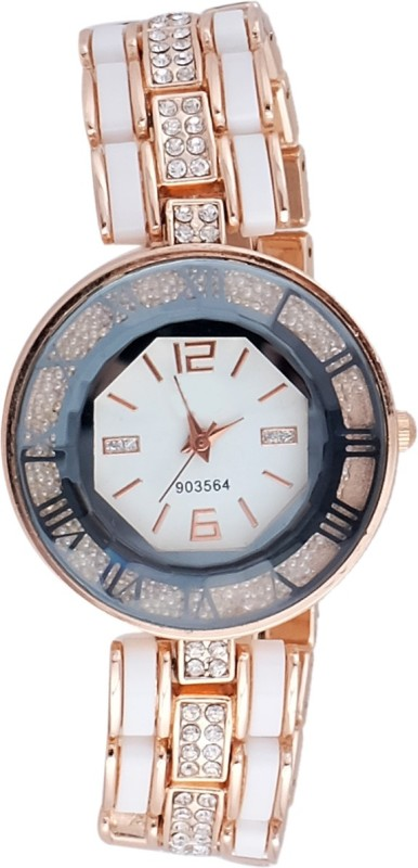 Super Drool SD0135WTROSEGOLD Analog Watch For Women