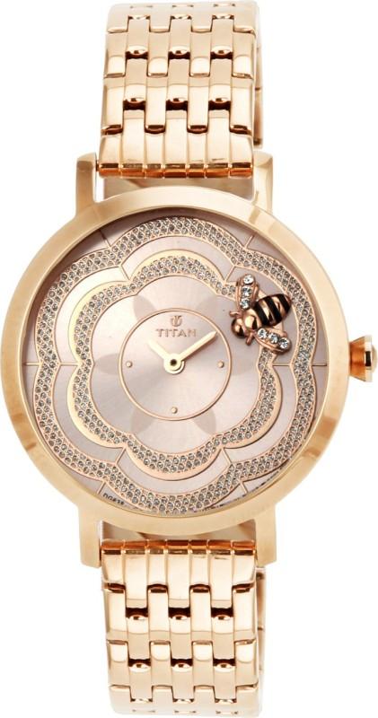 Titan 95050WM01J Analog Watch For Women
