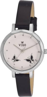 Vego AGF025 Vego Black Color Analog Watch For Women,s(AGF025) Analog Watch  - For Women